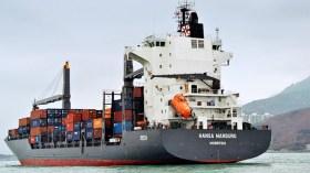 """Crewmitglieder der """"Hansa Marburg"""" wurden im April gekidnappt und später wieder freigelassen © reederei leonhardt"""