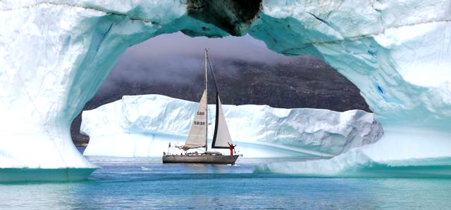 Grönland, Expedition