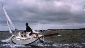 So sah es früher aus, wenn Sven auf und davon segelte © Yrvind