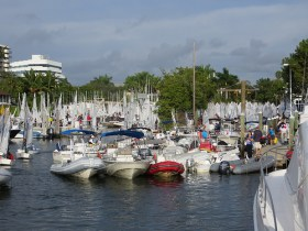 Auch im Winter beste Segelbedingungen in Florida © Coral Reef Yacht Club
