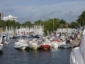 Auch im Winter beste Segelbedingungen in Florida © Coral Reef Yacht Club