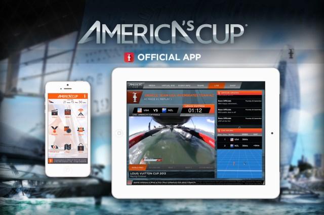 eine App, die in der Segelwelt zum Maß der Dinge wurde © America's Cup