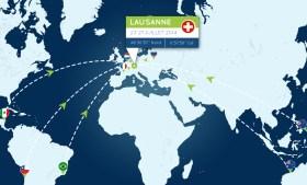 "Lausanne – Mittelpunkt der ""Forschungs)Welt ? © hydros"