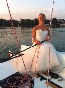 Hochzeitsegeln © Johanna und Michael Hempt