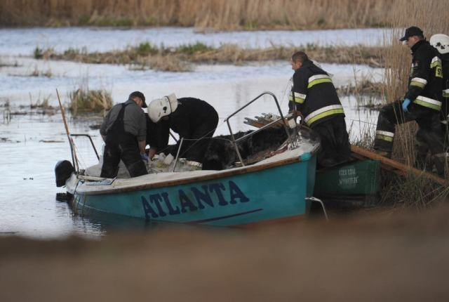 Die Besatzung verbrannte an Bord. © Bogdan Hrywniak / newspix.pl