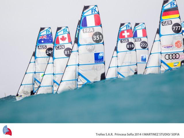 Weltcup im frischen Wind © Martinez/P.Sofia