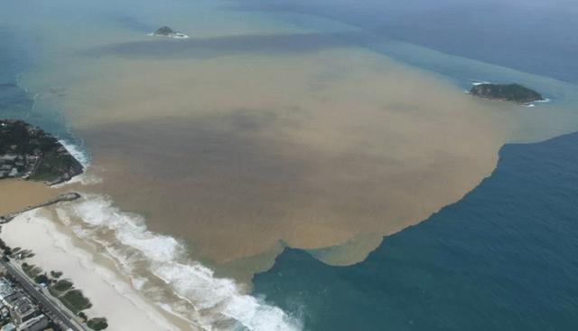 70% aller Abwasser der 12-Millionen-Metropole fließen ungeklärt in den Atlantik. © meu rio