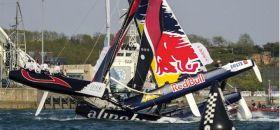 Red Bull Alinghi Crash