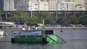 Mit solchen Müll-Sammel-Böötchen will man 2016 vor Rio de Janeiro klare Fakten schaffen © meu rio