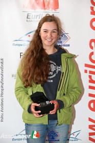 Bester Deutsche im Laser Radial Feld: Annika Matthiesen © Andrea Pisapia