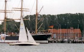 Rückkehr nach Travemünde beim üblichen Südwest von der Lübecker Bucht © Uli Eichler/Swedesail