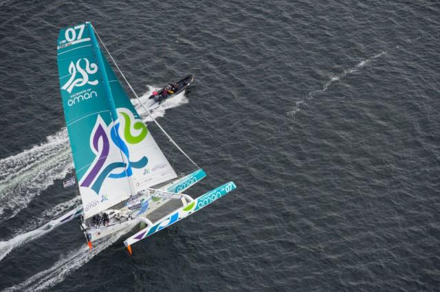 Ab drei Windstärken geht die Post ab © Oman Sail