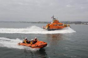Kann Facebook Leben retten? Fowey lifeboats