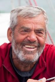 2018 will er mit 75 Jahren nochmal rum: Hochseesegler Werner Landwehr. ©Patrick Eden/RORC