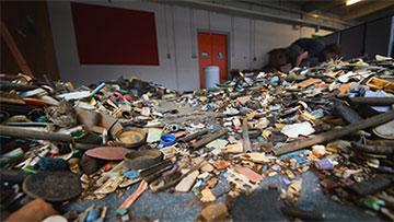 Müll aus den Meeren © oceancleanup