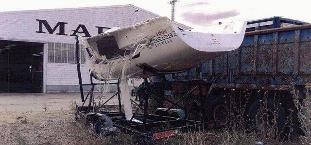 Platu 25, Crash