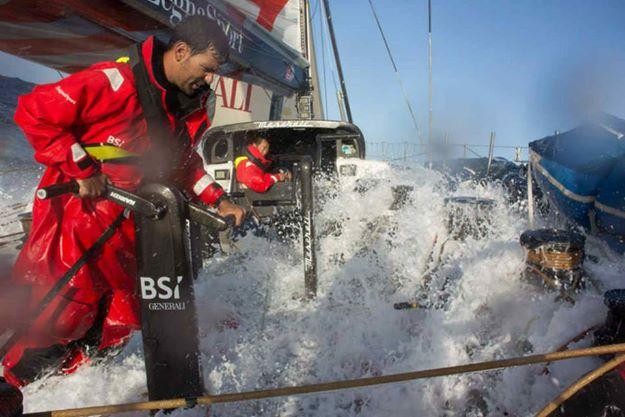 """Die """"Maserati"""" im Vollbad – so raste man noch vorgestern über den Atlantik © maserati"""