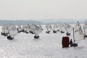 Wenig Wind, aber viel Teamgeist auf dem Salzhaff © Jutta Mohr