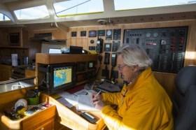 Verdammte Technik, gesegnete Technik: Stanley Paris muss viel reparieren an Bord © paris