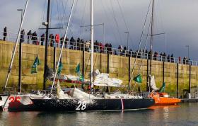In Roscoff lecken die Skipper und Schiffe ihre Wunden © courcoux