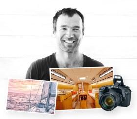 Fotograf und Segler James Kell © kickstart
