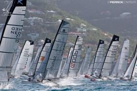 Mehr als 60 Formula-18-Cats am Start © cata-cup