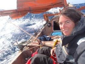 Capucione Trochet segelte auf der Tara Tari über die Kanaren, Kapverden nach Guadeloupe © trochet