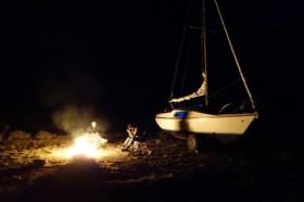 Lagerfeuer… in der Parkbucht © schimschar
