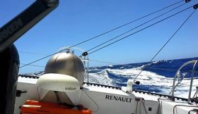 Spur im Southern Ocean