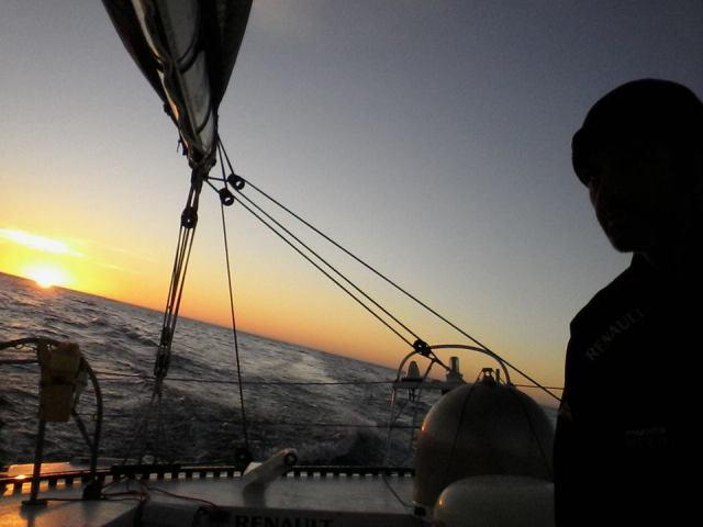 Angenehmes Segeln im Southern Ocean. © Riechers