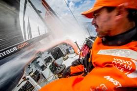 Starker Zwischenspurt der Amerikaner. © Amory Ross / Team Alvimedica / Volvo Ocean Race