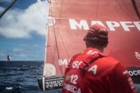 Mapfre im Zweikampf mit Dongfeng © Francisco Vignale / MAPFRE / Volvo Ocean Race