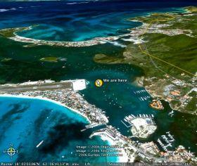 Das Nadöhr zur Simpson Bay Lagune in St Maarten