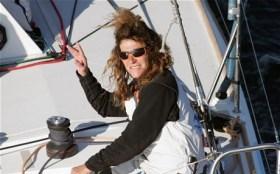 """""""Mein Leben sind und bleiben Boote!"""" Florence Arthaud zu Zeiten, als sie vor Cap Corse über Bord ging © arthaud"""