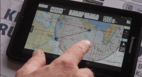 Die Peilung reicht oft zur Navigation aus
