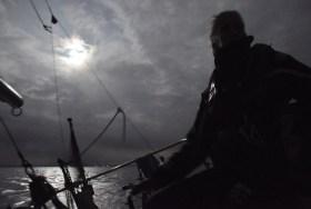 """Nachts segeln ist schöööön!"" © Maike Christiansen"