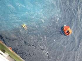 Die letzten Meter bitte schwimmen © aramon