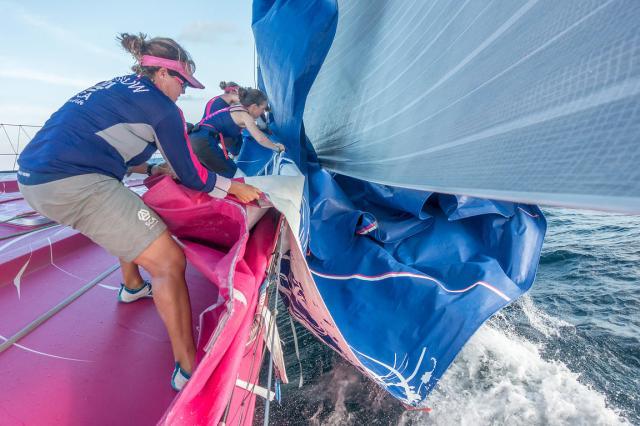 Es gibt verdammt viel zu tun auf diesen VO-Racern © team SCA