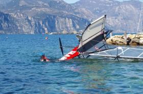 Ohne gemeinsames Baden mit dem Fluggerät geht es selten © Stickl Sportcamp