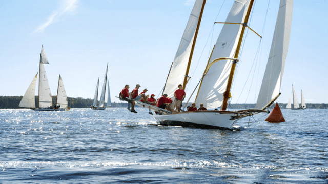 Log Canoe, Chesapeake Bay