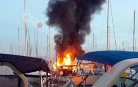 Flammemeer um 6:15 h morgens © cronica balear