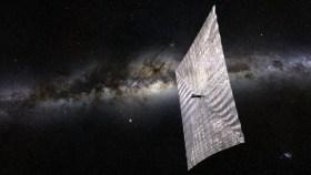 Weltraum, Lightsail, Segeln im All