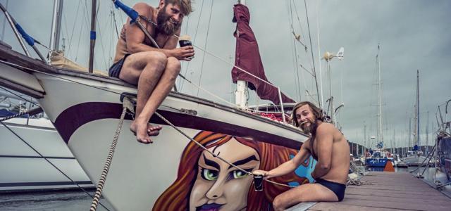 Sailing Conductors, Ankunft, Irland