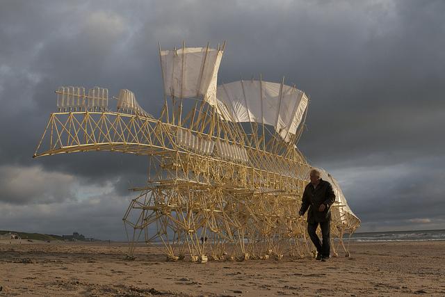 Strandbeester, Kunst, Strand, Jansen