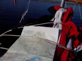 Schlauchbootsegeln, Fahrtensegeln