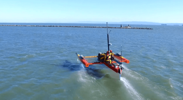 Kite Boat, kiteboat, Drachen, Foils