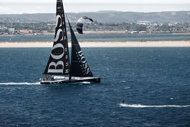 Alex Thomson, Hugo Boss