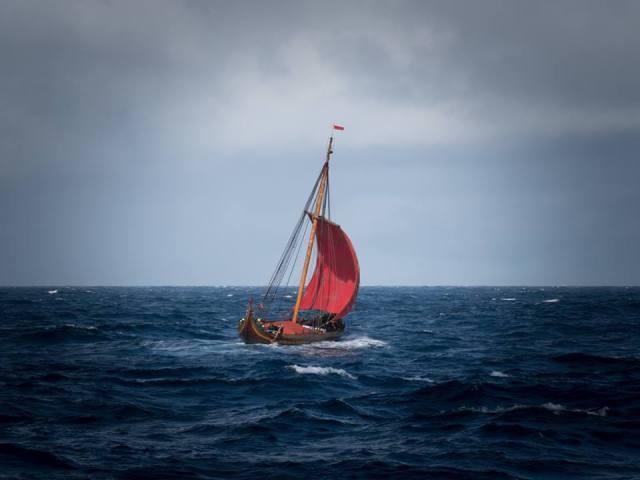 Wikinger, Draken Harald, Nordatlantik, Grönland, Neufundland