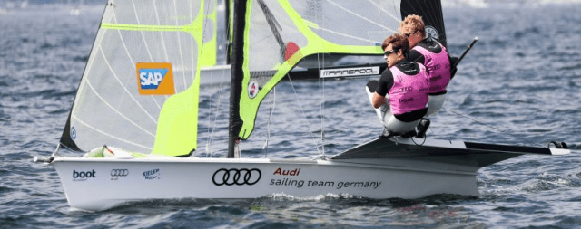 Kieler Woche 2016, Olympische Klassen