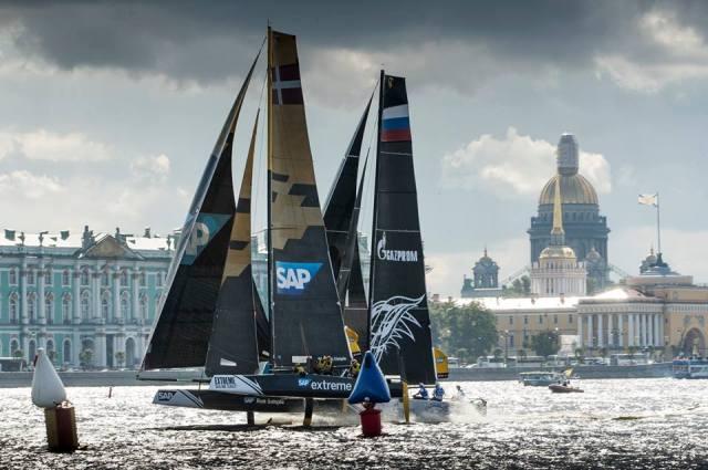 Extreme Sailing Series, St Petersburg